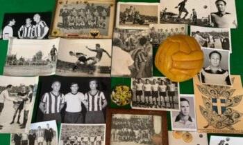 Ενας «κιτρινόμαυρος» θησαυρός θα κοσμεί το Μουσείο της ΑΕΚ στο νέο γήπεδο «OPAP Arena» στη Νέα Φιλαδέλφεια.
