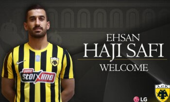 Ο Εσχάν Χατζισαφί εδώ και λίγη ώρα είναι επίσημα ποδοσφαιριστής της ΑΕΚ.