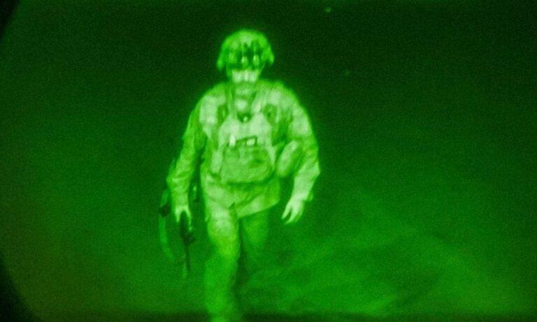 Αφγανιστάν: Ο τελευταίος Αμερικανός στρατιώτης που έφυγε από την Καμπούλ