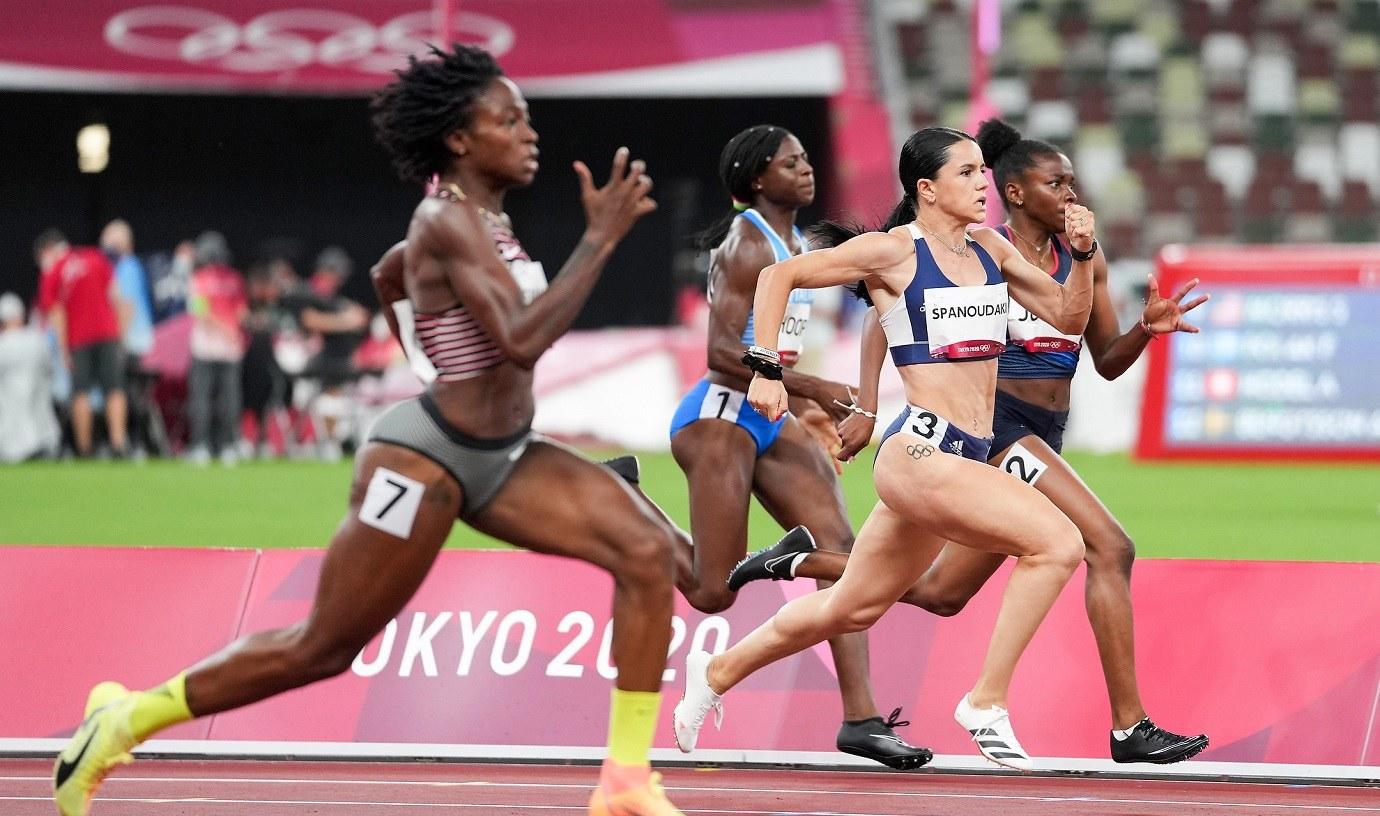 Ολυμπιακοί Αγώνες 2020- Στίβος: Το πάλεψε η Ραφαέλα Σπανουδάκη στα ημιτελικά