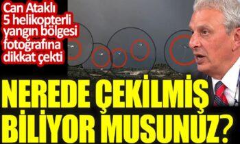 Τουρκία: Απίστευτη καταγγελία από Τούρκο δημοσιογράφο - Ελικόπτερα κατά των πυρκαγιών μόνο στους δήμους που ψήφισαν Ερντογάν.