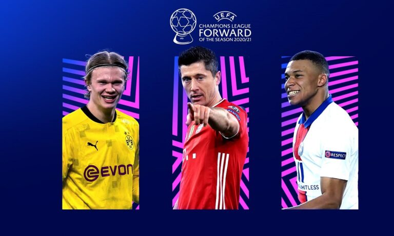 Champions League: Οι υποψήφιοι για τα βραβεία της περιόδου 2020-21 – Απών Μέσι και Κριστιάνο