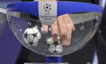 LIVE η κλήρωση των πλέι-οφ του Champions League!