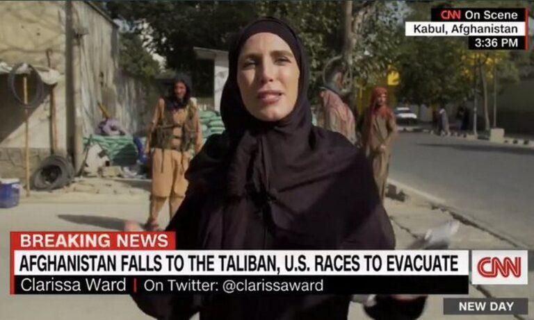 Viral: Η δημοσιογράφος του CNN στο Αφγανιστάν που άλλαξε αμφίεση σε μία μέρα