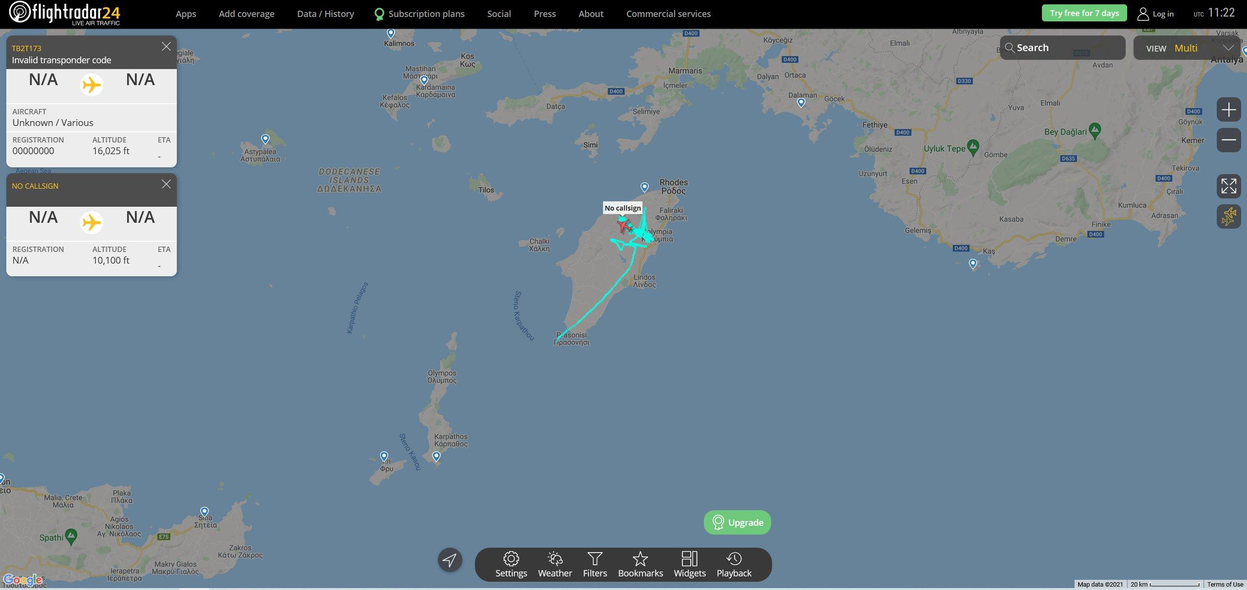 Ελληνοτουρκικά: Ξεκίνησε η μάχη των drones στο Αιγαίο θα μπορούσε να πει κανείς αφού επτά τούρκικα και ένα ελληνικό βρέθηκαν απέναντι.