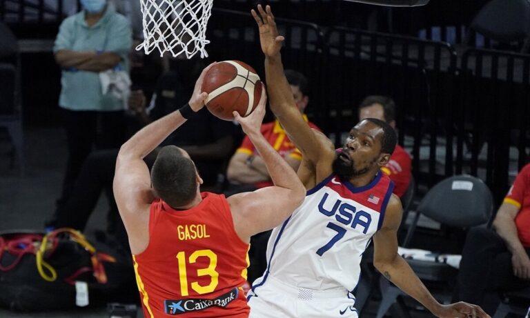 Ολυμπιακοί Αγώνες 2020: «Τιτανομαχία» Ισπανίας – Team USA στα προημιτελικά!