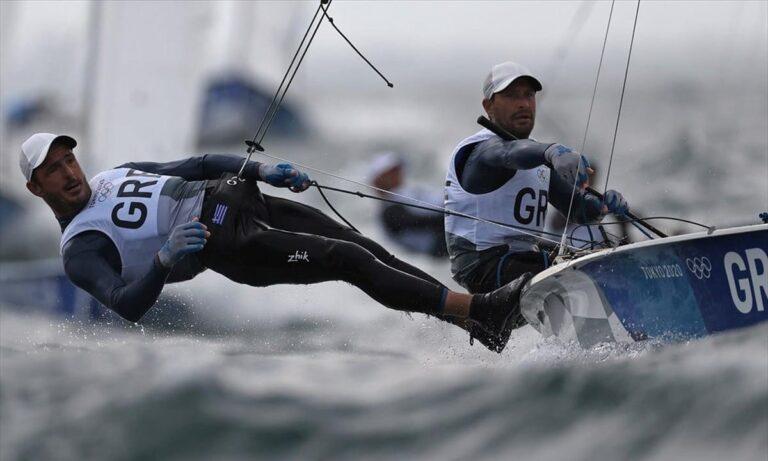 Ολυμπιακοί Αγώνες 2020: Στην 8η θέση οι Μάντης – Καγιαλής