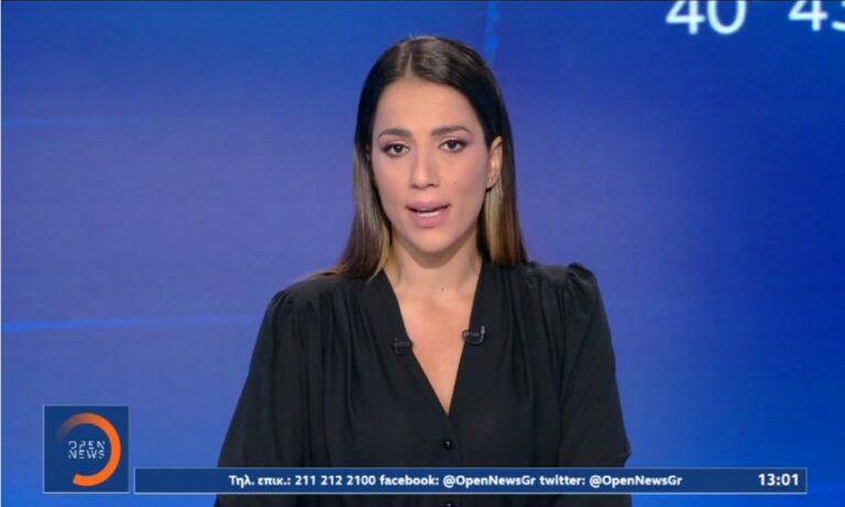 Ευλαμπία Ρέβη: Επέστρεψε από τις φωτιές στην εκφώνηση ειδήσεων