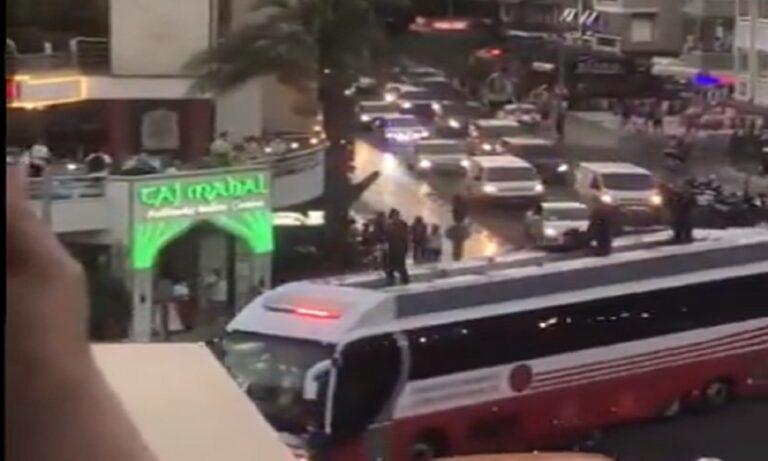 Φωτιές – Τουρκία: Δείτε πώς έφτασε στην Μαρμαρίδα που καίγεται ο Ερντογάν