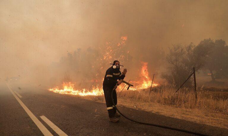 Φωτιές: Στάχτη 60.000 στρέμματα δάσους το πρώτο τετραήμερο του Αυγούστου