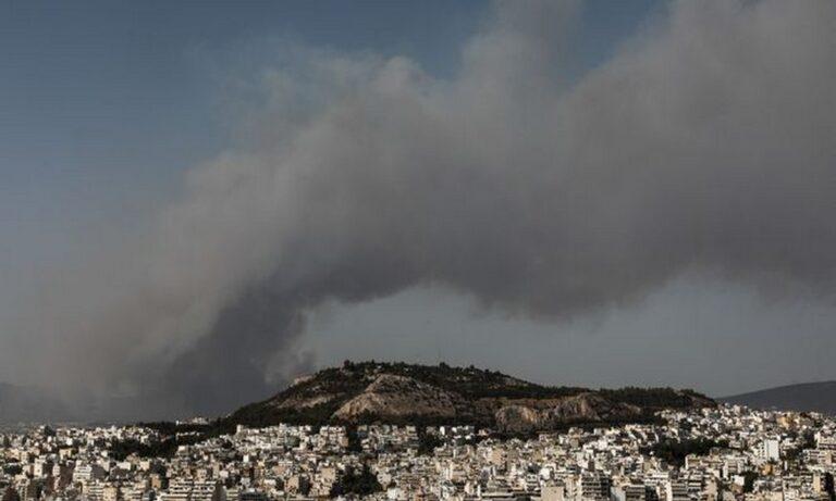 Φωτιά τώρα: Τοξικό νέφος πάνω από την Αθήνα – Αποκαλυπτική εικόνα από δορυφόρο
