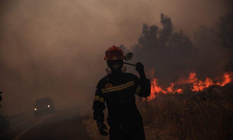 Φωτιά Βαρυμπόμπη- Καλλιάνος: Δραματική προειδοποίηση – Ελέγξτε τη φωτιά έρχονται άνεμοι 8 μποφόρ