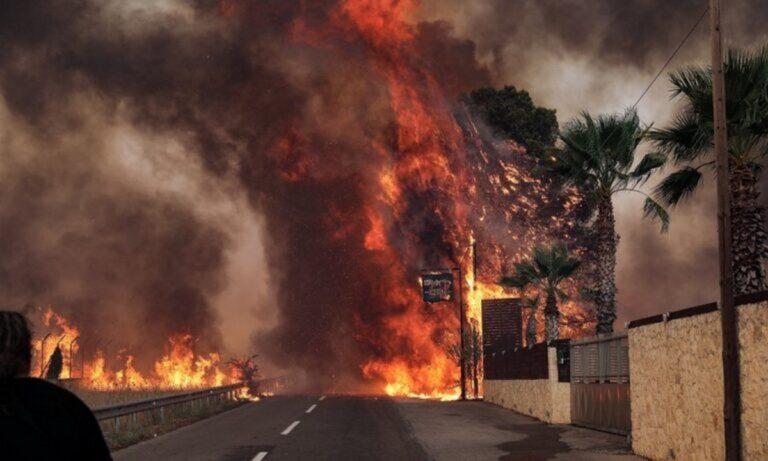 Φωτιές: Απαγορεύεται η πρόσβαση σε δάση και άλση