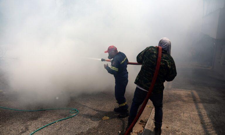 Φωτιά στην Αττική: Kανένα ενεργό μέτωπο, σε ύφεση η «πύρινη κόλαση» των προηγούμενων ημερών