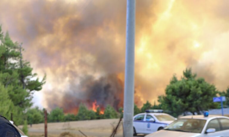 Φωτιά: Κάηκε σπίτι στη Δροσοπηγή – Φτάνουν και στο Κρυονέρι οι φλόγες
