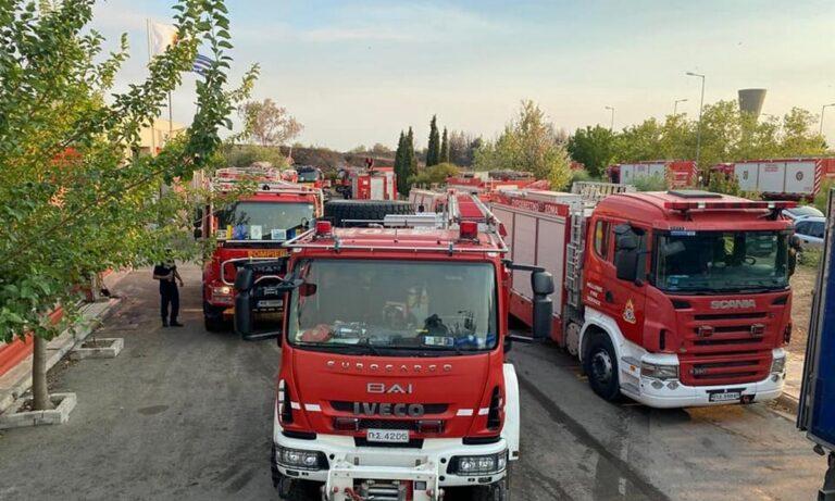 Φωτιές: 2,5 ώρες είχαν στα σύνορα τους Ρουμάνους πυροσβέστες για… τεστ Covid | sportime.gr
