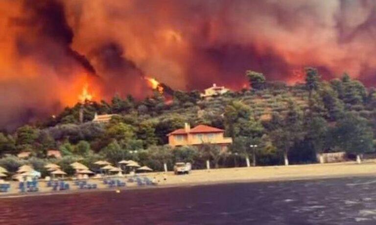 Φωτιά Εύβοια: Ο εφιάλτης συνεχίζεται – Νέο μέτωπο στην Δάφνη, κοντά στις Ροβιές