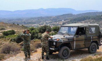 Φωτιές: Περιπολίες από Στρατό και Αστυνομία σε δάση