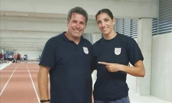Γιαννουλάκης: Ο προπονητής της Ελένης Αρτυματά αναφέρθηκε στις συνθήκες προετοιμασίας τους για τους Ολυμπιακούς Αγώνες του Τόκιο.