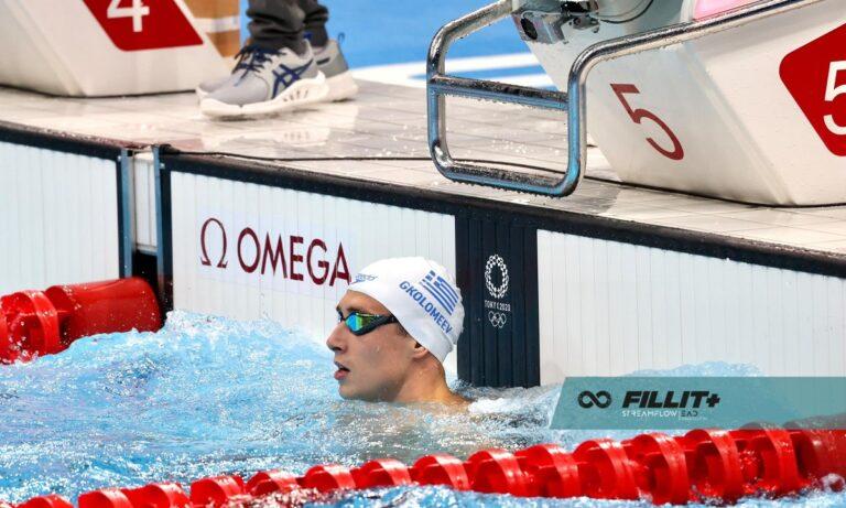 Ολυμπιακοί Αγώνες 2020: 5ος στον τελικό των 50μ. ελεύθερο ο Γκολομέεβ!
