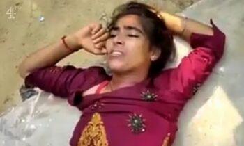 Ινδία: Αποτροπιασμό προκαλεί ένα video με μία 19χρονη παράλυτη, θύμα ομαδικού βιασμού, δύο εβδομάδες πριν αφήσει την τελευταία της πνοή.