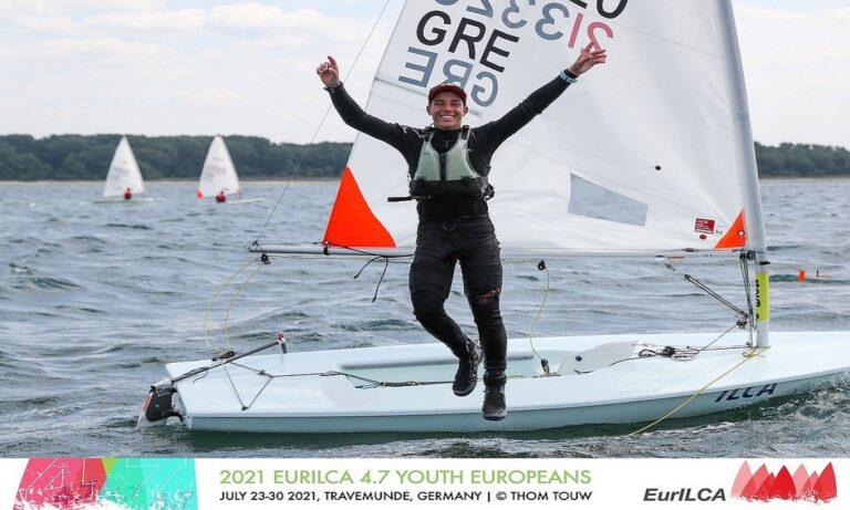 Δύο ελληνικά μετάλλια στο Ευρωπαϊκό Λέιζερ 4,7 Youth!