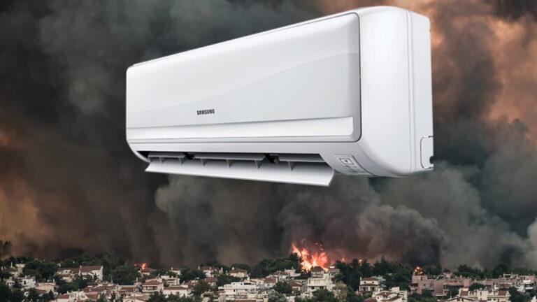Φωτιά Βαρυμπόμπη : Κλείστε τα κλιματιστικά στην Αθήνα! Προειδοποίηση από Μετεωρολόγους