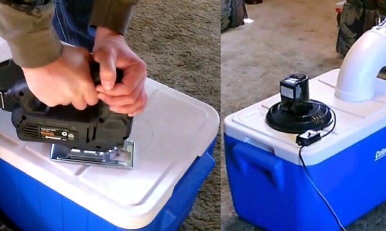 Πώς να φτιάξετε το δικό σας κλιματιστικό με υλικά που έχετε σπίτι (vid)