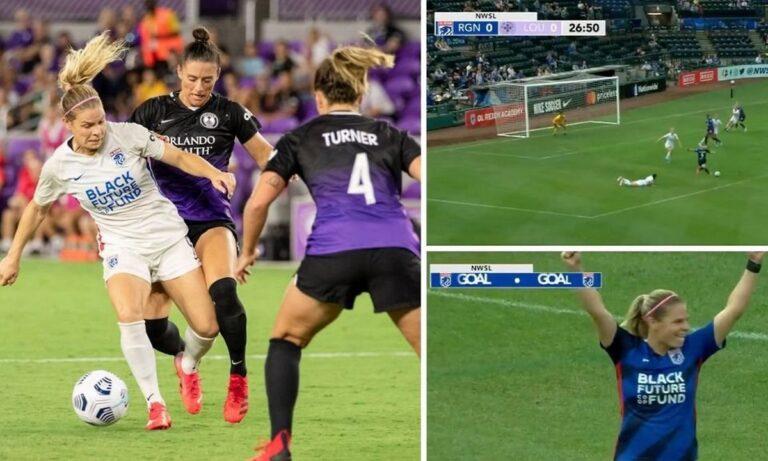 ΗΠΑ: Απίθανο γκολ στο γυναικείο ποδόσφαιρο με ντρίμπλες που ζαλίζουν! (vid)