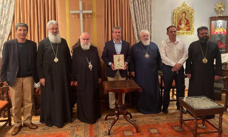 Λοβέρδος: Στην Αλεξανδρούπολη για μία ιδιαίτερη συνάντηση – Η εικόνα της Παναγίας Άξιον Εστί