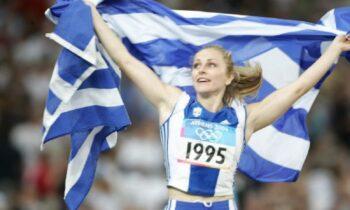 Σαν σήμερα, στις 27 Αυγούστου του 2004 η Μιρέλα Μανιάνι κατακτά το χάλκινο μετάλλιο στον ακοντισμό στους Ολυμπιακούς αγώνες της Αθήνας.