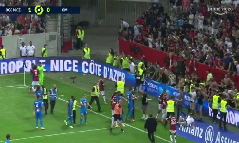 Γαλλία: Σοβαρός τραυματισμός οπαδού της Νις μετά το «ντου»