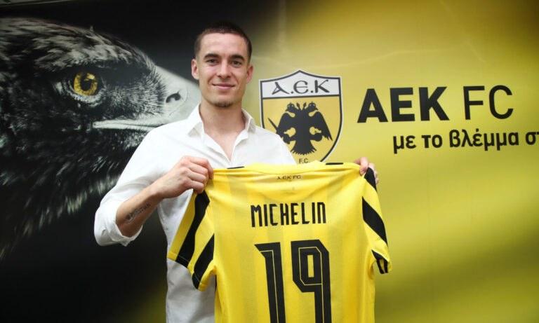 Μισελέν: «Ηρθα στην ΑΕΚ για το πρωτάθλημα και το Champions League» (vid)
