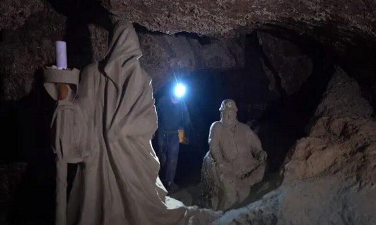 Ουκρανία: Βρέθηκε μυθικό άγαλμα του Μινώταυρου