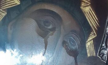 Παναγία Παρηγορήτρια: Στον Βύρωνα δακρύζει για μήνες η εικόνα και κανείς δεν μιλά ανοιχτά γι' αυτό!
