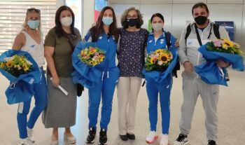 Τα ξημερώματα της Τετάρτης επέστρεψε από το Τόκιο το πρώτο γκρουπ της ελληνικής ομάδας, που συμμετείχε στους 32ους Ολυμπιακούς Αγώνες.