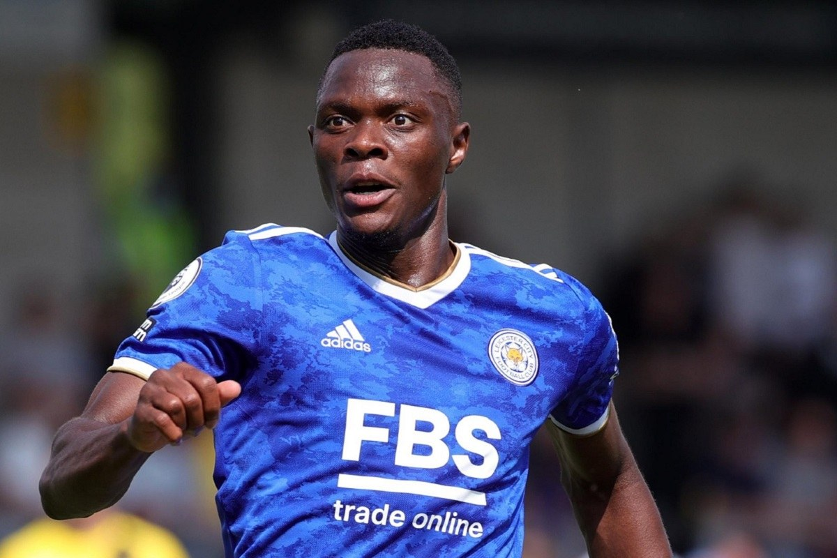 patson daka of leicester city and