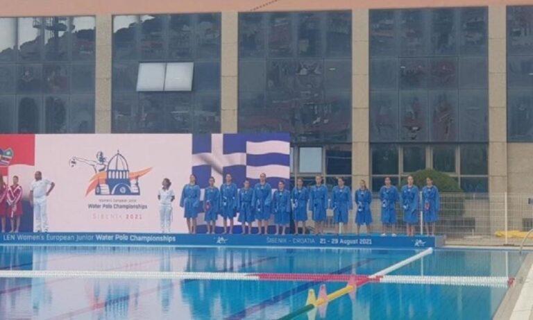 Εθνική Νεανίδων Πόλο: Πάλεψε, αλλά ηττήθηκε στον τελικό από την Ρωσία