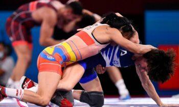 Ολυμπιακοί Αγώνες 2020: Η Μαρία Πρεβολαράκη ηττήθηκε με 11-4 από την Βαλβέρδε στη φάση των «16» του Ολυμπιακού τουρνουά της Πάλης.