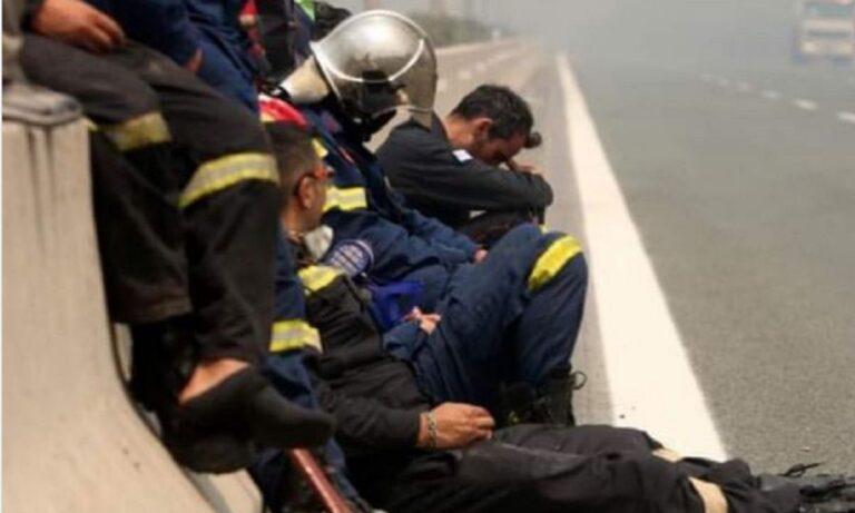 Βανδή για τις φωτιές: «Το ευχαριστώ για τους πυροσβέστες είναι λίγο – Αυτό που συμβαίνει να μην ξεχαστεί»