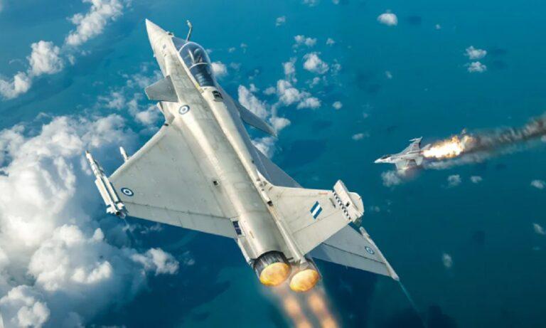 Rafale: Σοκάρει την Τουρκία εικονογράφηση με κατάρριψη τουρκικού F-16 από ελληνικό μαχητικό
