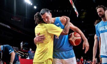 Ο Λουίς Σκόλα στους Ολυμπιακούς αγώνες του Τόκιο, αποσύρθηκε από την Εθνική Αργεντινής και αποθεώθηκε από τον Λιονέλ Μέσι.