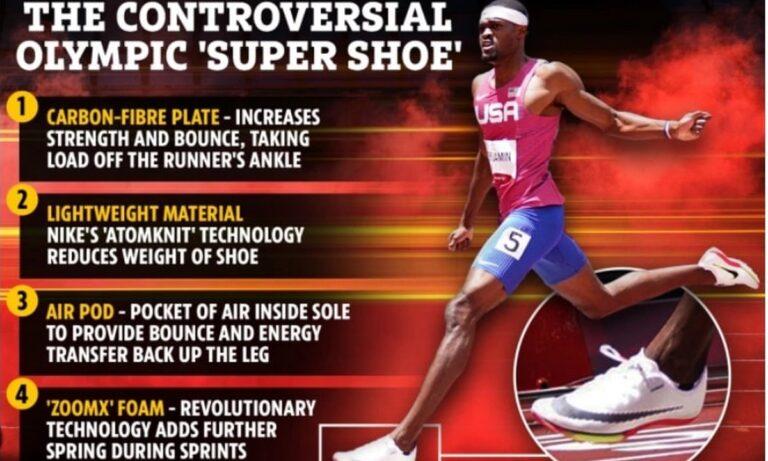 Ολυμπιακή διαμάχη για το «σούπερ παπούτσι» που λειτουργεί σαν «τραμπολίνο»