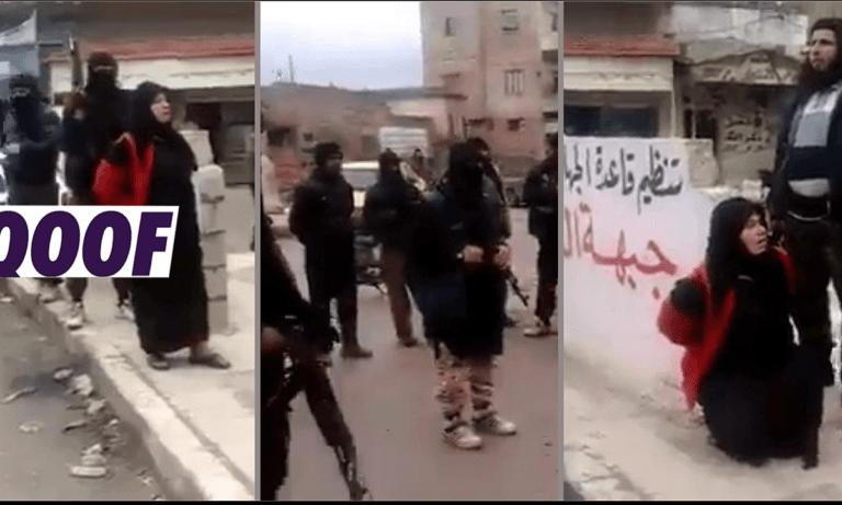 Σοκαριστικό βίντεο με εκτέλεση γυναίκας ανέβηκε στο διαδικτύο. Μόνο που δεν είναι πρόσφατο ούτε από Αφγανιστάν. αλλά από τη Συρία το 2015!