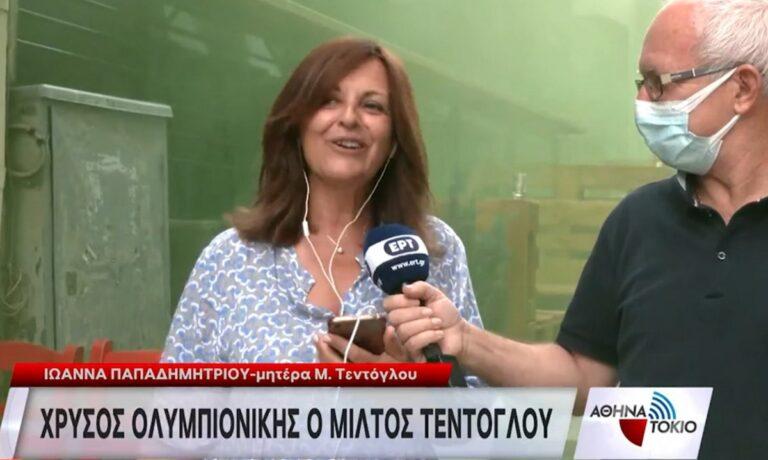Ολυμπιακοί Αγώνες 2020 – Στίβος: Τα Γρεβενά αποθεώνουν τον «Χρυσό» Μίλτο Τεντόγλου! Οι δηλώσεις της μητέρας του!