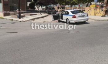 Αναστάτωση μέρα μεσημέρι στη Θεσσαλονίκη από επεισόδιο με πυροβολισμούς που σημειώθηκε στην περιοχή του Κορδελιού.