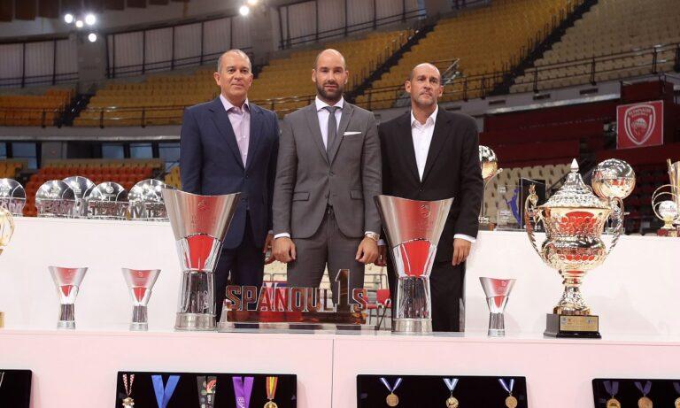 Παναγιώτης Αγγελόπουλος: «Μεγάλο φιλικό τον Σεπτέμβρη του 2022 για τον Σπανούλη»
