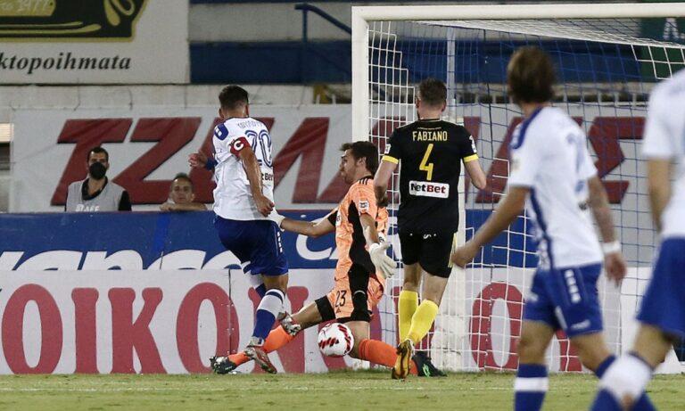 Ατρόμητος – Άρης: Ο Σπιριντόνοβιτς ισοφάρισε σε 1-1 (vid)