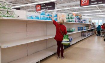 Koρονοϊός: Άδεια τα σούπερ μάρκετ στη Αγγλία - Θα μείνουν καιρό έτσι