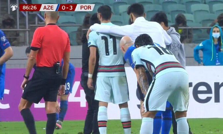 Αζερμπαϊτζάν - Πορτογαλία 0-3: Διακοπή στο ματς για μια... selfie! (VIDS)